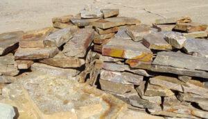 kiviä louhoksella