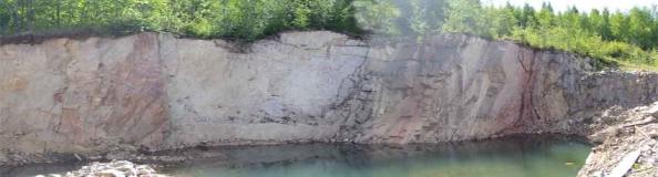 kuva kivilouhoksesta